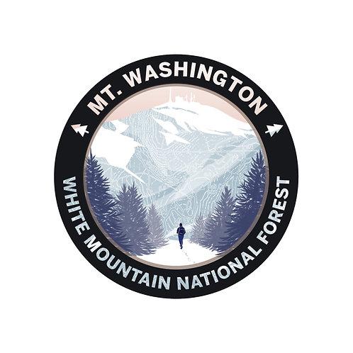 Mt. Washington Sticker