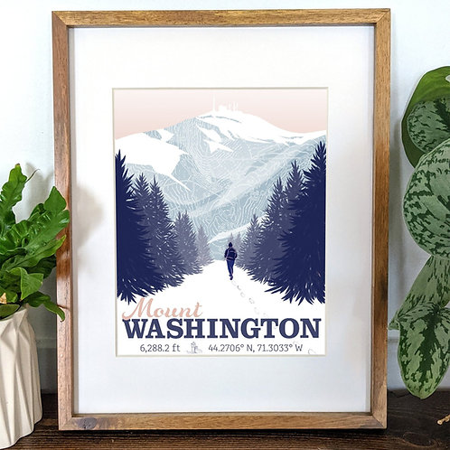 Mt. Washington Illustration