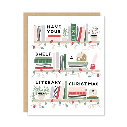 Literary Christmas Card Set