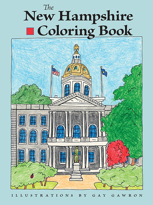The New Hampshire Coloring Book