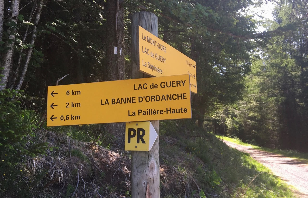 Wandelpaden Banne d'Ordanche