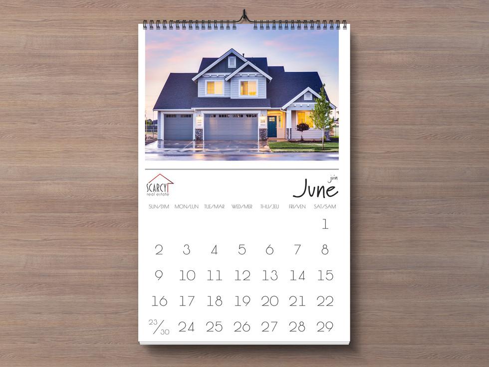 Real Estate Calendar
