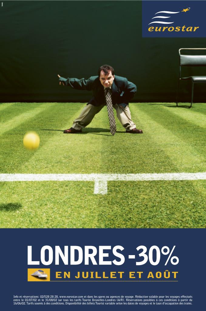 Eurostar: -30%