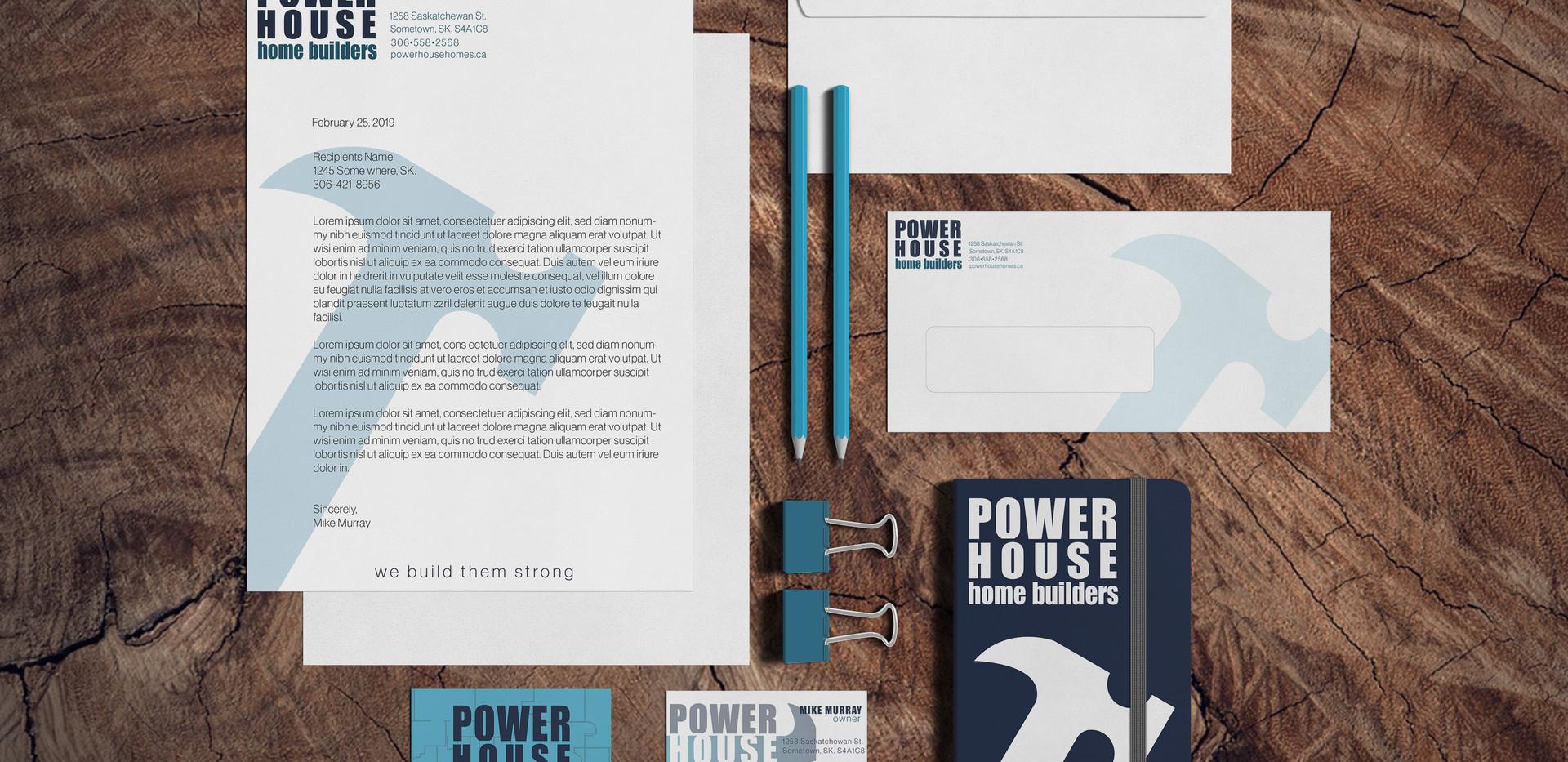 Powerhouse Home Builders Stationary