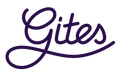 Logo van Gites.nl, partner van Clos Saint-Sauves, als je een vakantiehuis in de Auvergne wil huren.