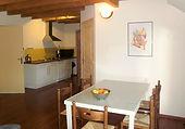 Slaapkamer ouders van Colchique, een vakantiewoning die verhuurd wordt voor 4-6 personen.