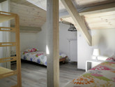 Kinderslaapkamer van Coquelicot, een vakantiewoning (gite) voor 4 personen.
