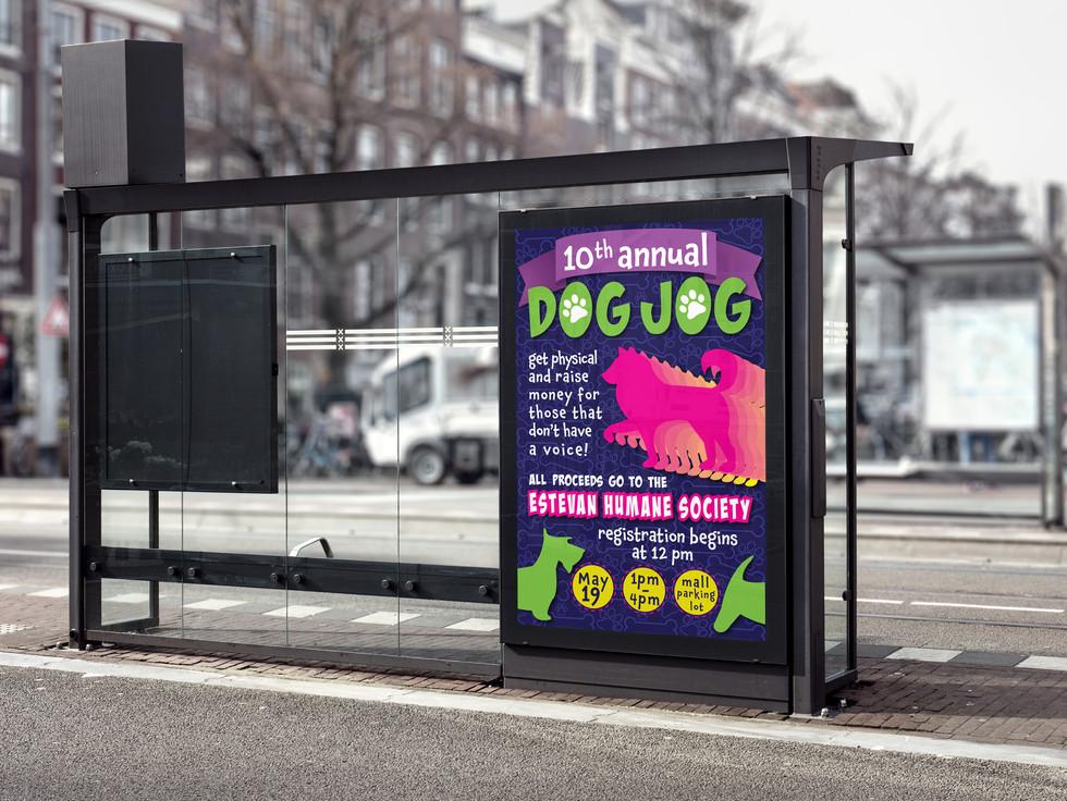 Dog Jog Poster