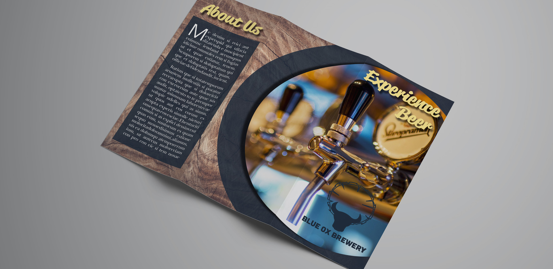 Blue Ox Brewery Brochure