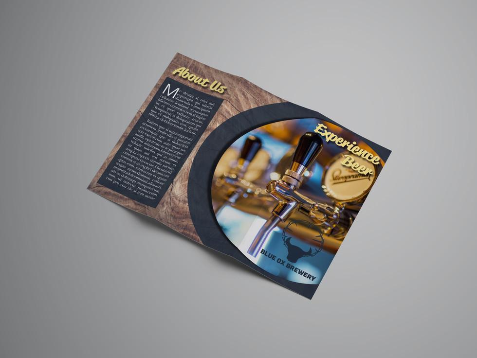 Blue Ox Brewery Brochure
