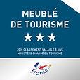 Elk vakantiehuis van Clos Saint-Sauves heeft een 3 sterren label gekregen