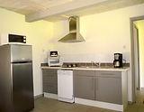 Keuken van Gentiane, een vakantiewoning (gite) voor 4 personen.