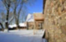 Clos Saint-Sauves achteraanzicht winter