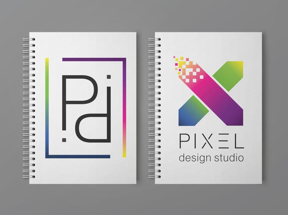 Pixel Design Studio Notebook