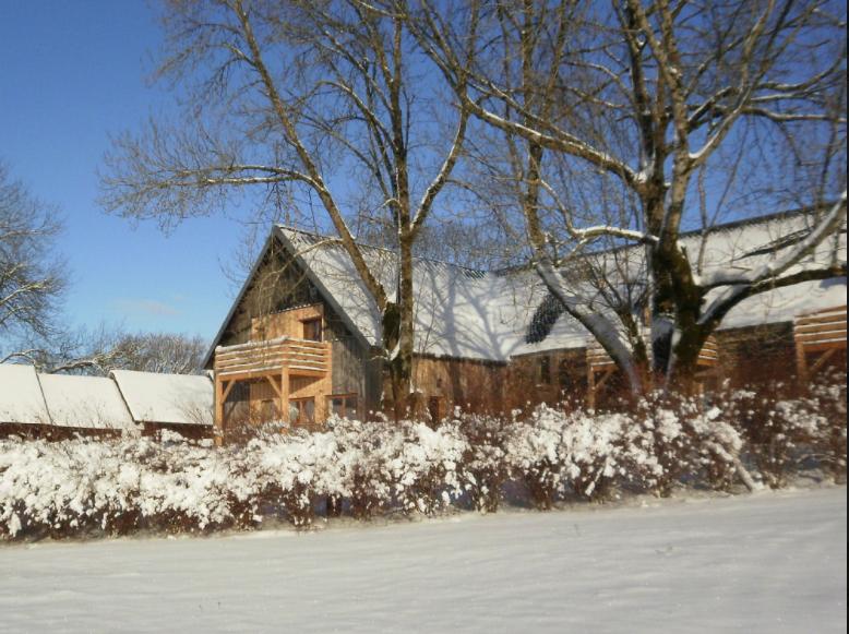 Clos Saint-Sauves en hiver