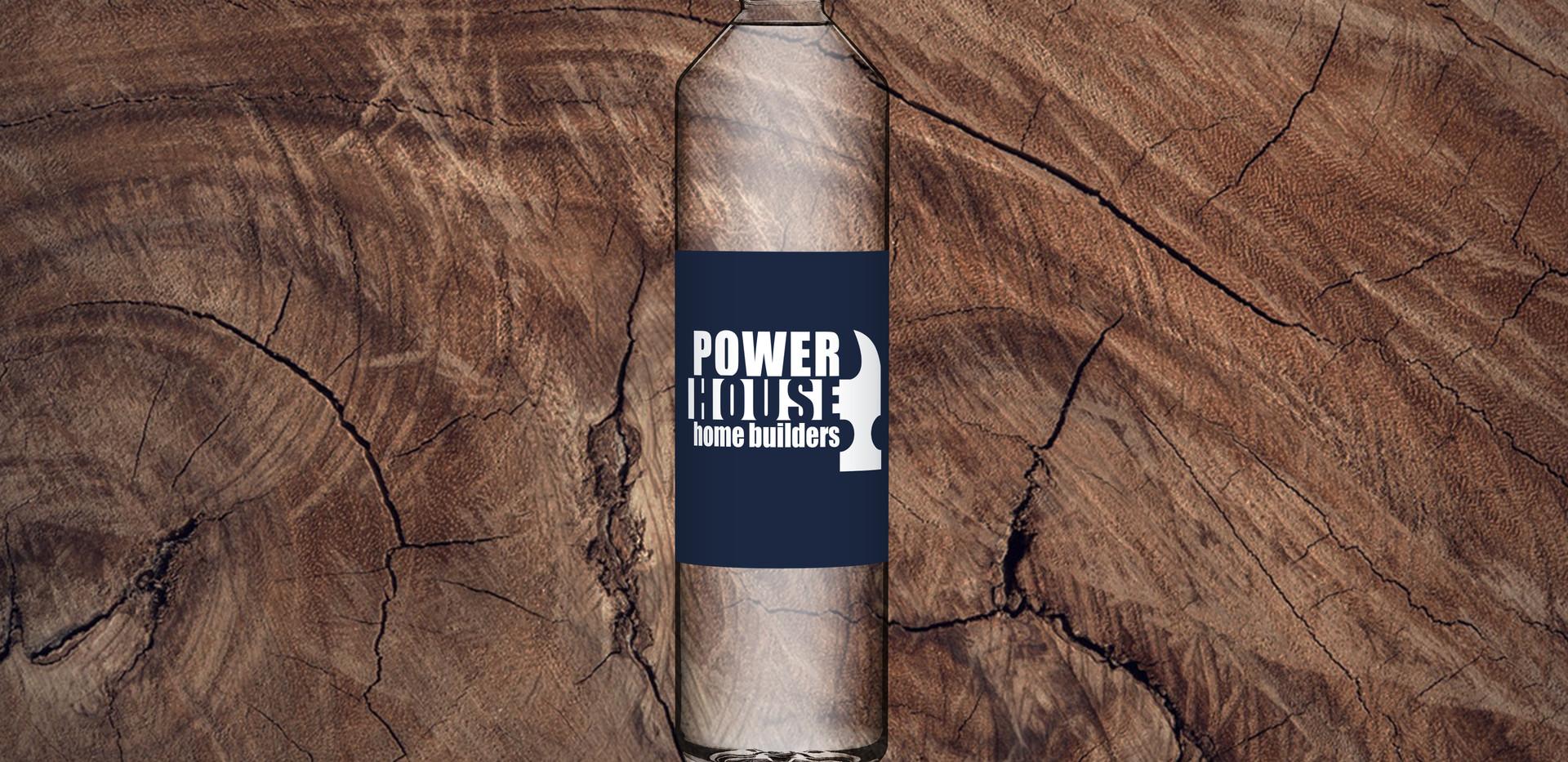 Powerhouse Home Builders Water Bottle