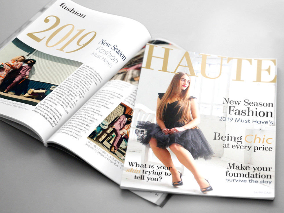 Magazine with Article