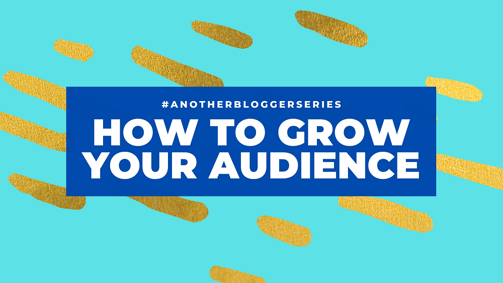 "simple title image with ""how to grow your audience"" on"