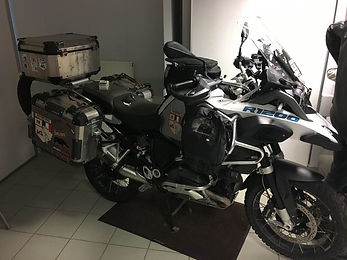South America motorbike