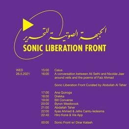 SONIC LIBERATION FRONT - RADIO ALHARA