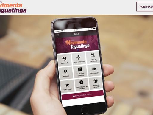 Projeto Movimenta Taguatinga começa com mais de 600 inscritos