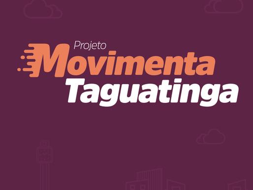 28/02 é o último dia para a adesão ao Movimenta Taguatinga