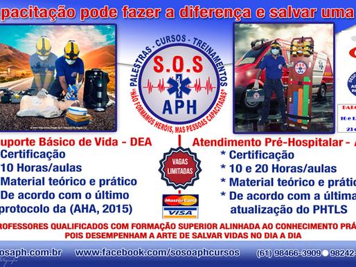 Promoção especial fim de ano S.O.S APH