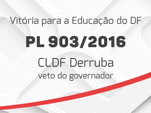 Deputado Julio Cesar Ribeiro lidera manobra a favor do PL903/2016 e consegue derrubar veto do Govern