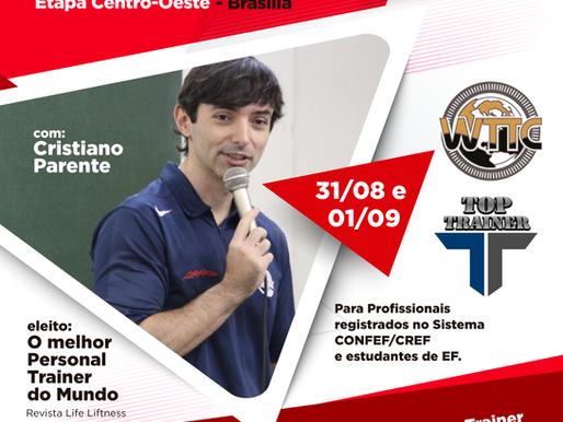 VIVA EF! e WTTC etapa Centro-Oeste nos dias 31/08 e 01/09 em Brasília