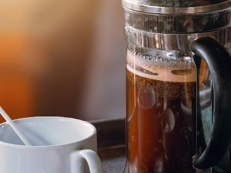 Método de extração de café filtrado: Prensa Francesa