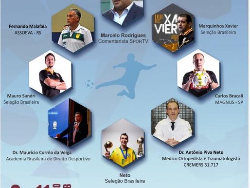Congresso Brasileiro de Futsal - 9 à 11/03
