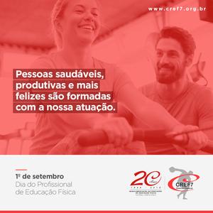 dia do profissional de educação física cref7
