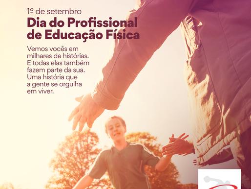 1o Setembro - Dia do Profissional de Educação Física