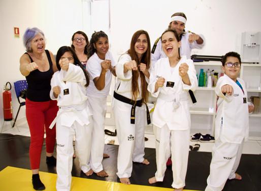 Transformando vidas com o Taekwondo