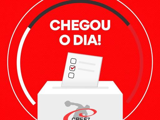 Exerça seu direito de votar! É hoje até às 18h