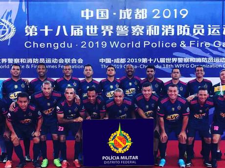 PMDF nos Jogos Mundiais da China