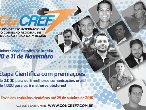 Vem aí o 6º Congresso Internacional do CREF7