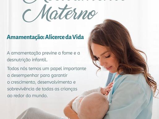 Semana Mundial do Aleitamento Materno começa dia 01 de agosto
