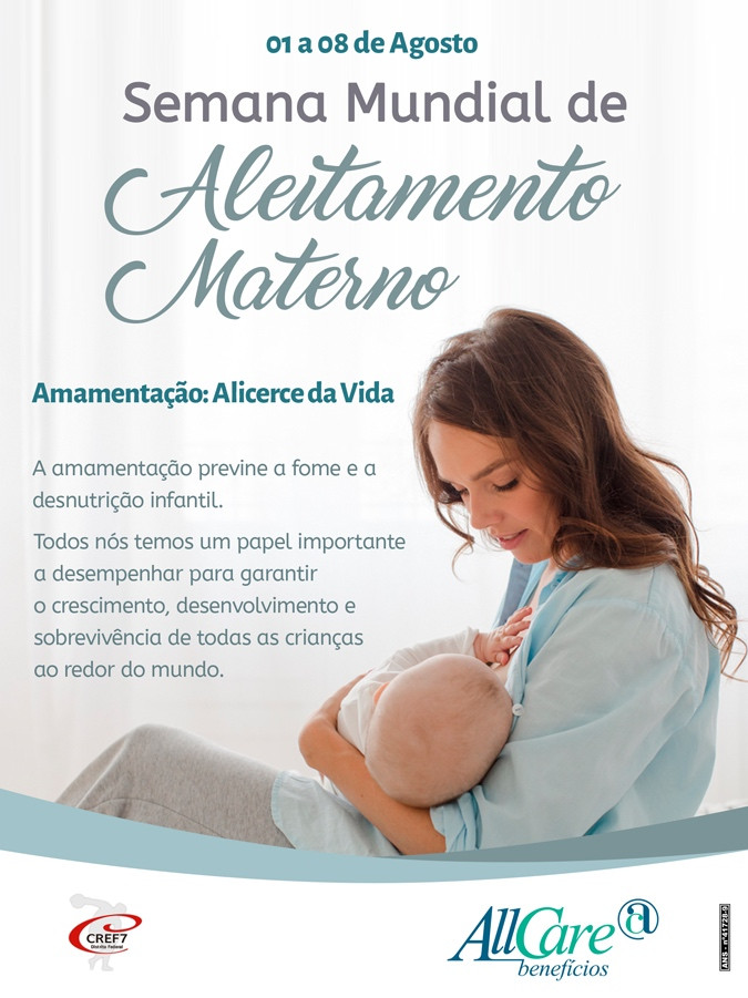 All Care Semana Mundial do Aleitamento Materno