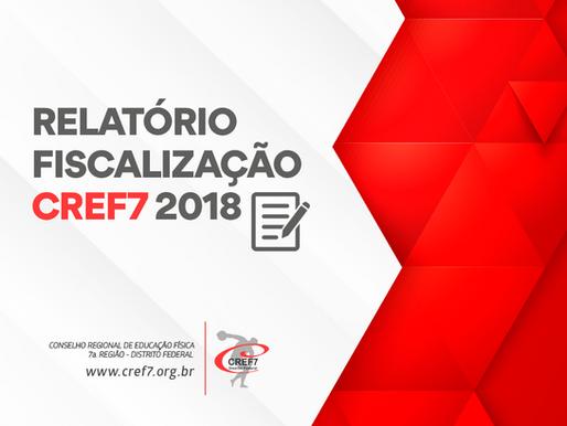 Relatório 2018 - Fiscalização CREF7
