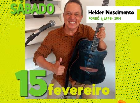15 de Fevereiro tem Helder Nascimento no projeto SOM de SÁBADO