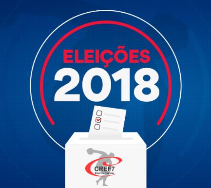2018 é ano de Eleição para o CREF7