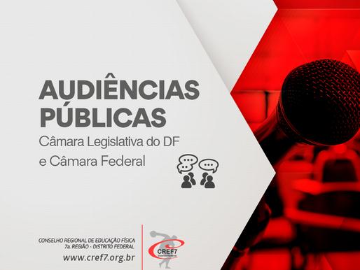 Audiência Públicas para cobrar a presença dos licenciados em Educação Física nas séries iniciais