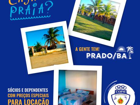 Curtir uma Casa na Praia? Conheça as casas do COPM em Prado/BA