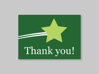 Thank You Card, 5x7