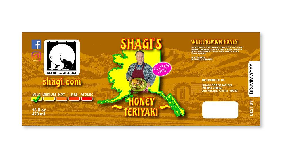 Honey Teriyaki Label