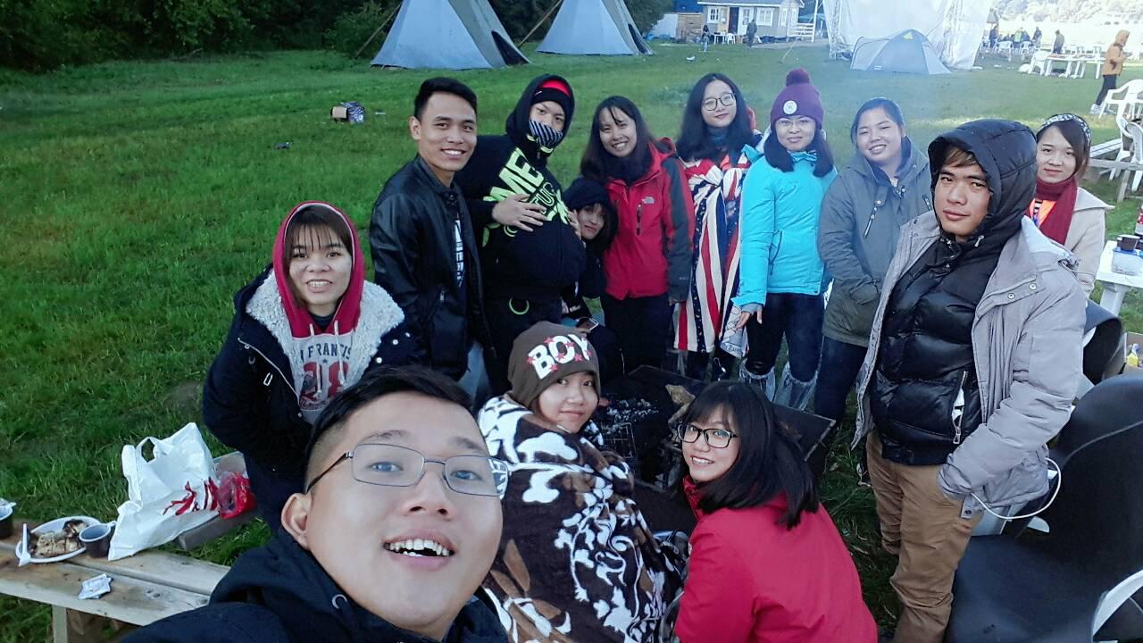 Hội trại sinh viên ở Obninsk