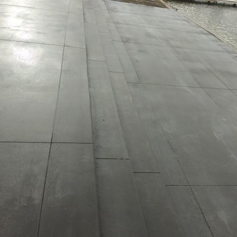 commercial Concrete job
