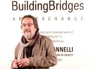 Il realismo espressivo del Maestro Mannelli al Building Bridge Art Exchange e all'IIC L.A.