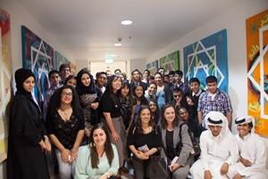 Mixed media art exhibit celebrates common bonds between Los Angeles and Qatar